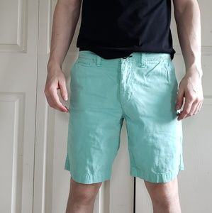 American Eagle 30W Mint Classic Fit Shorts
